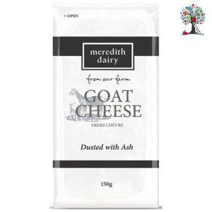 Fresh Goat Cheese dusted with Ash (150g)