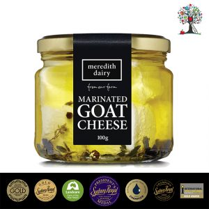 Meredith Dairy Marinated Goat Cheese (100g)